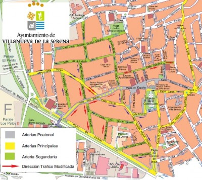 Nuevo Plano Del Centro De Villanueva