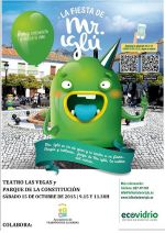 Cartel fiesta Mr Iglú